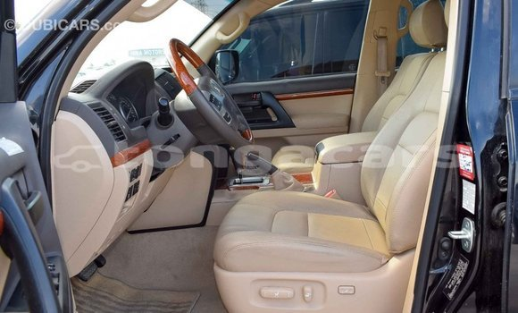 Buy Import Toyota Land Cruiser Black Car in Import - Dubai in Eua