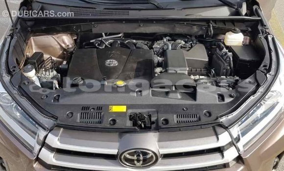 Buy Import Toyota Highlander Brown Car in Import - Dubai in Eua