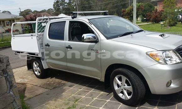 Buy Imported Toyota Hilux Silver Car in Nuku'alofa in Tongatapu