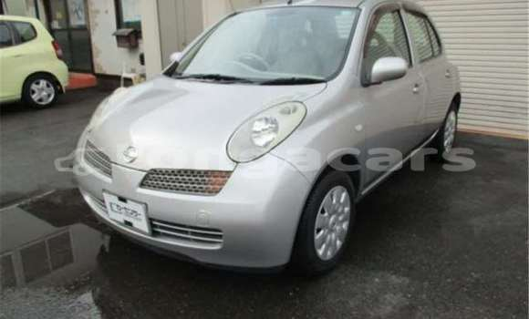 Buy Used Nissan March Silver Car in Liahona in Tongatapu